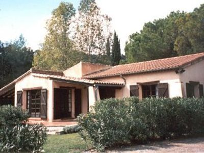 Provence style villa rental with pool and tennis